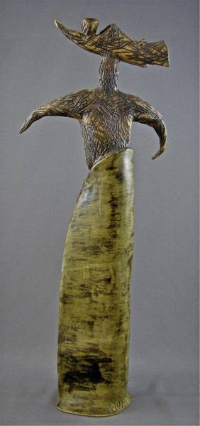 Sculpture - Emergence #6 by Mario MJ Perron