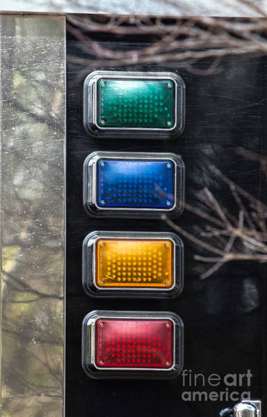Photograph - Emergency Lights by Dale Powell