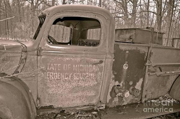 Photograph - Emergency Truck by Randy J Heath