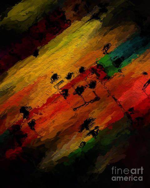 Digital Art - Emerging Motive by Lon Chaffin