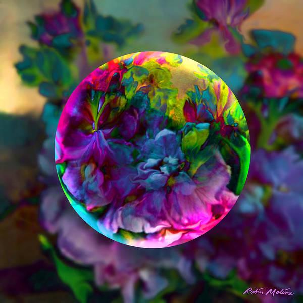 Old-fashioned Digital Art - Emerging Spring  by Robin Moline