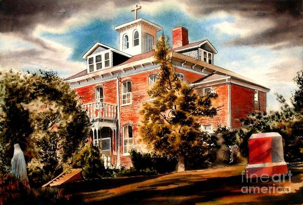 Painting - Emerson House by Kip DeVore
