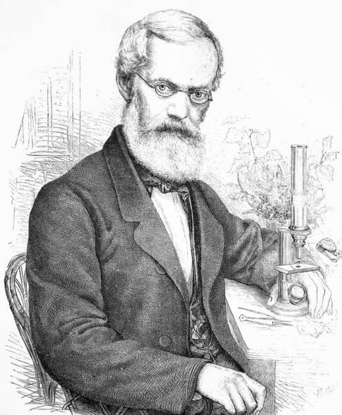 Engraving Photograph - Emil Rossmassler by Bildagentur-online/tschanz