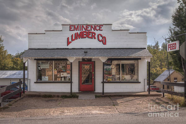 Riverway Photograph - Eminence Lumber Company by Larry Braun