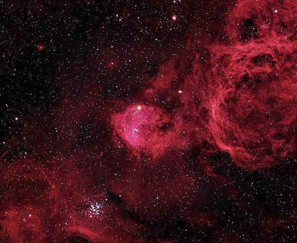 Wall Art - Photograph - Emission Nebula (ngc 3324) by Robert Gendler/martin Pugh/science Photo Library