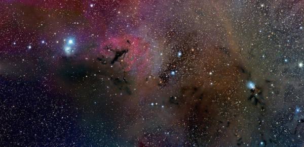 Emission Nebulae Ngc 1333 And Ic 348 Art Print