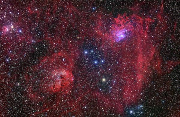 Emission Nebulae Art Print
