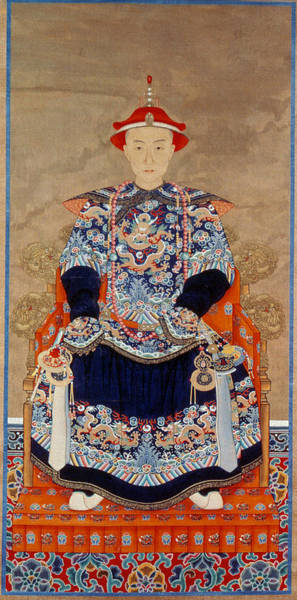 Painting - Emperor Ch'ien Lung (1711-1799) by Granger