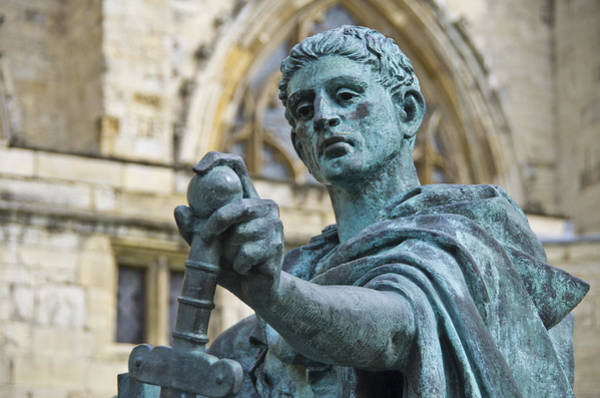 Photograph - Emperor Constantine by Ross G Strachan
