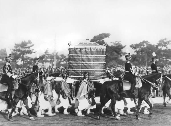 Emperor Photograph - Emperor Hirohito Coronation by Underwood Archives