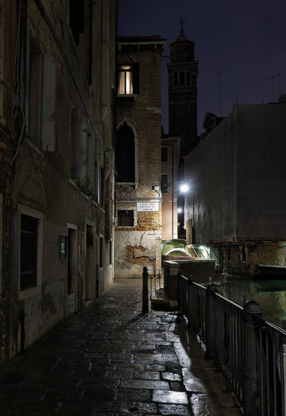 Calle Wall Art - Photograph - Empire Of Venetian Light by Marion Galt