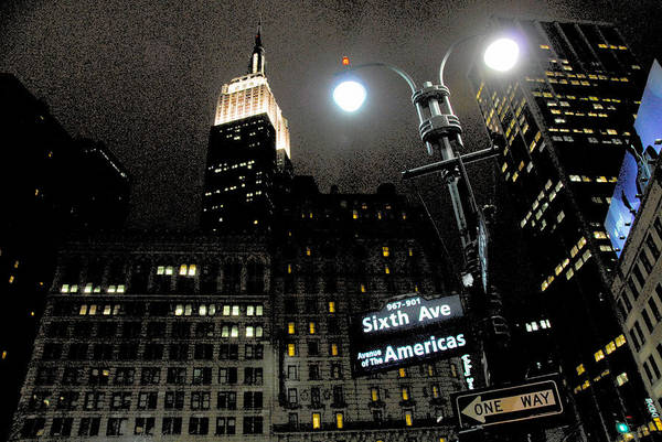 Empire State Building Photograph - Empire State Building At Night by Ivo Kerssemakers