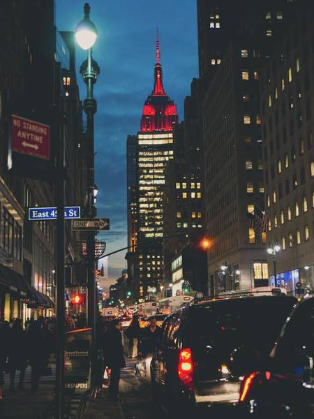 Customer Photograph - Empire State Building As Seen From 5th by Photo By Francesca Russell