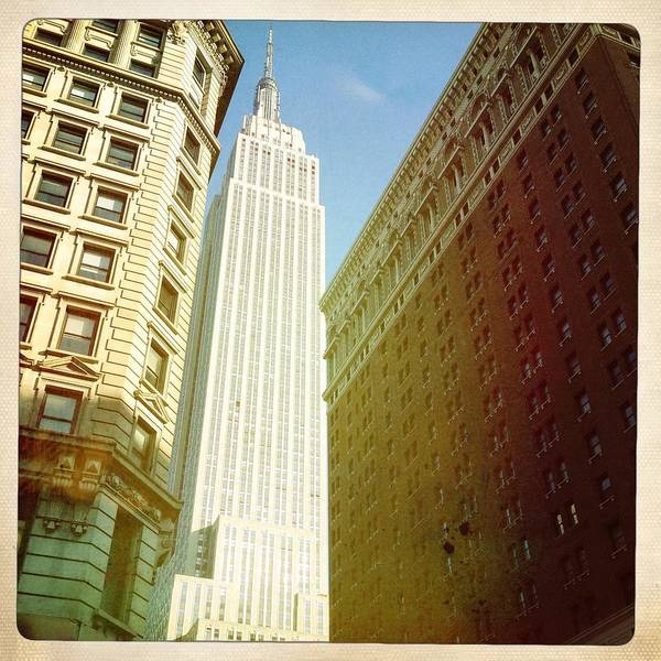 Photograph - Empire State Building by Ben Peterson