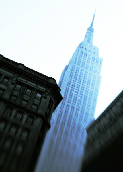 5th Avenue Photograph - Empire State Building by Dave Bowman