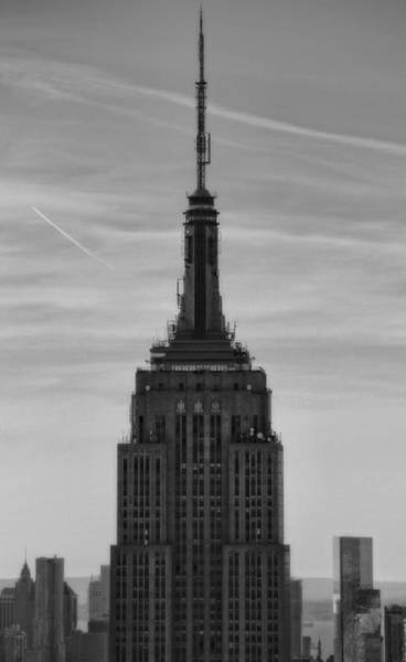 Photograph - Empire State Building Detail by Dan Sproul