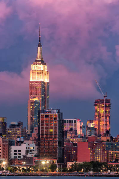 Photograph - Empire State Building by Emmanuel Panagiotakis