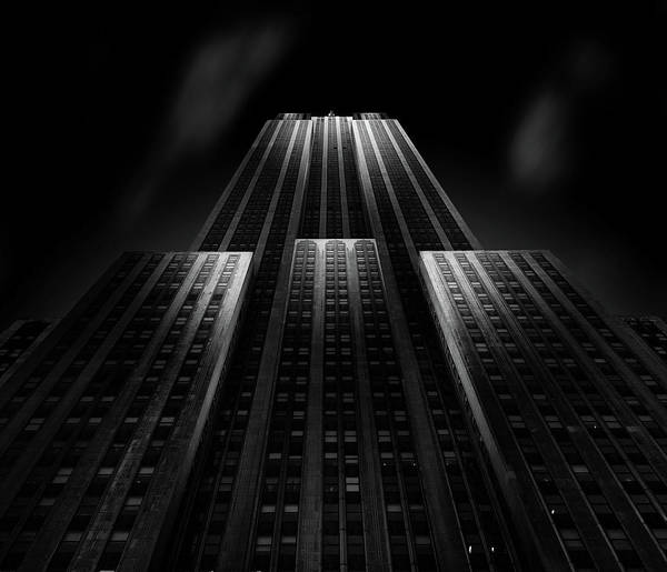 Landmark Building Photograph - Empire State Building by Matthias Hefner