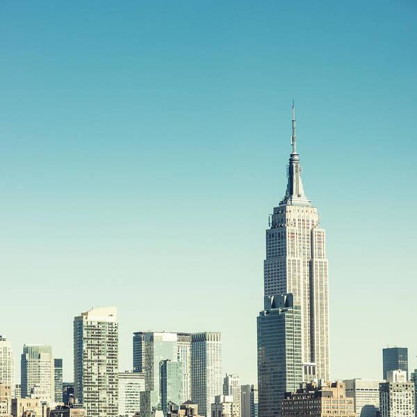 Greenwich Village Photograph - Empire State Building New York by Ferrantraite