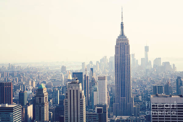 Girly Photograph - Empire State Building Nyc by Kim Fearheiley