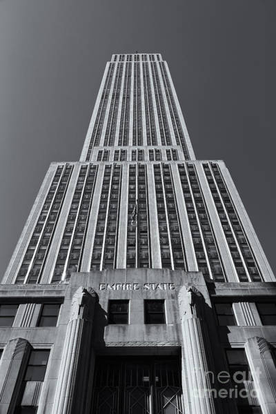 Photograph - Empire State Building Rising II by Clarence Holmes