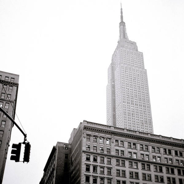 Photograph - Empire State Building by Shaun Higson