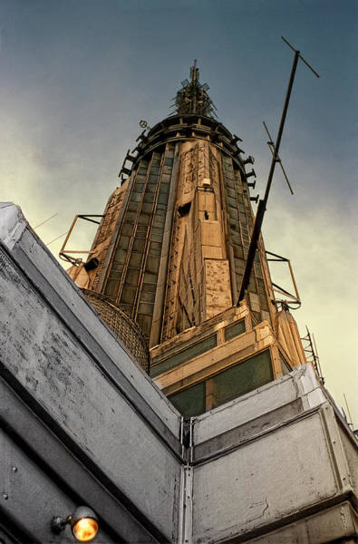 The Empire State Building Digital Art - Empire State Building Summit by Daniel Hagerman