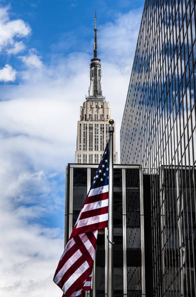 Wall Art - Photograph - Empire State by Chris Halford