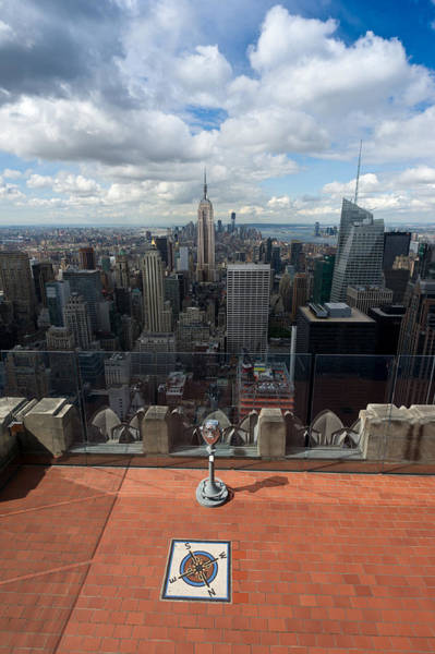 Photograph - Empire State From Ge Building by Gary Eason