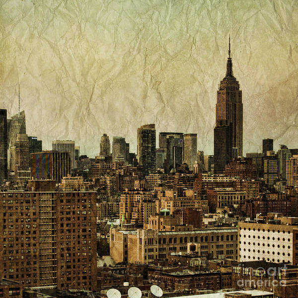New York Wall Art - Photograph - Empire Stories by Andrew Paranavitana