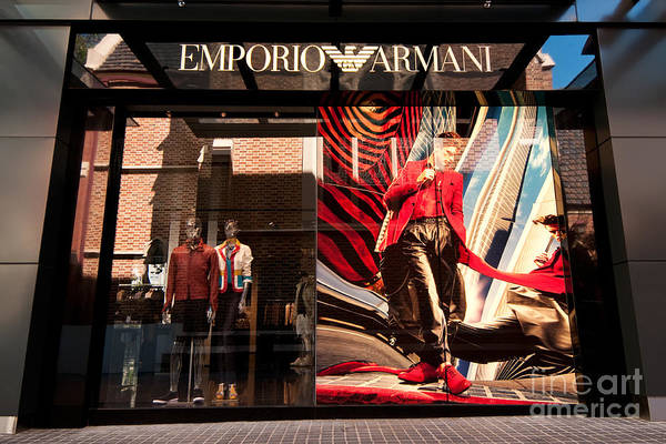 Photograph - Emporio Armani 02 by Rick Piper Photography
