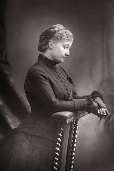 Photograph - Empress Eugenie Of France (1826-1920) by Granger