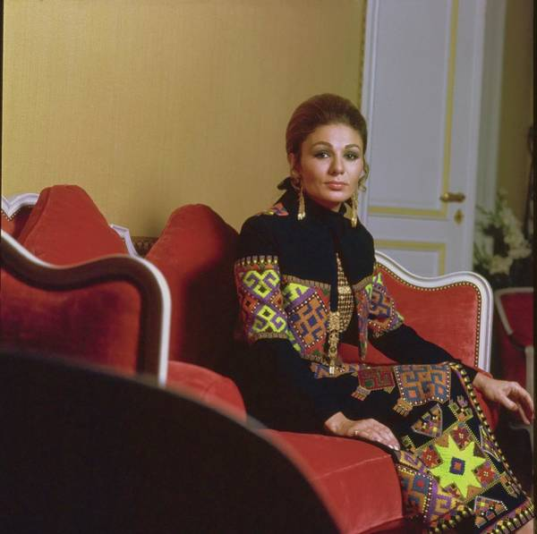 Wall Art - Photograph - Empress Farah Pahlavi Of Iran by Henry Clarke