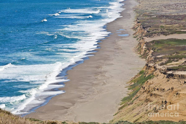 Photograph - Empty Beach by Richard J Thompson