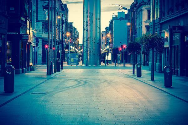 Millenium Photograph - Empty Henry St. by Semmick Photo