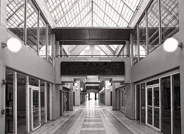 Photograph - Empty Mall by Rudy Umans