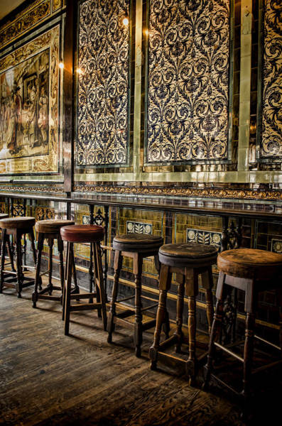 Wall Art - Photograph - Empty Pub by Heather Applegate