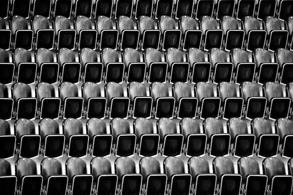 Baseballs Photograph - Empty Seats by Bastian Kienitz