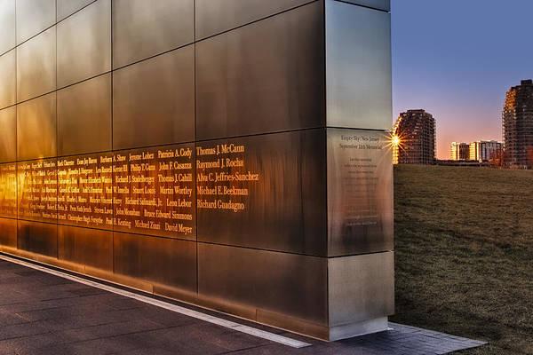 Photograph - Empty Sky Nj 911 Memorial  by Susan Candelario