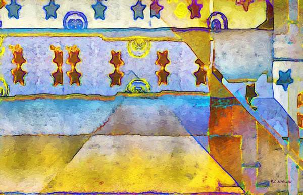 Painting - Empty Stage by RC DeWinter
