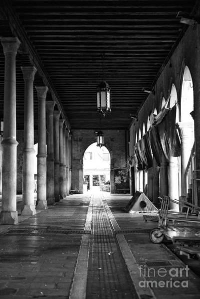 Wall Art - Photograph - Empty Venice Fish Market by John Rizzuto
