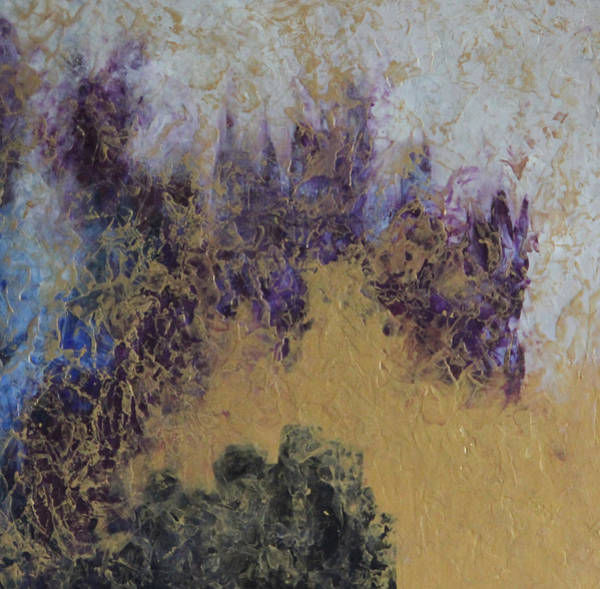 Wall Art - Mixed Media - Encaustic 3 by Tracy Fetter