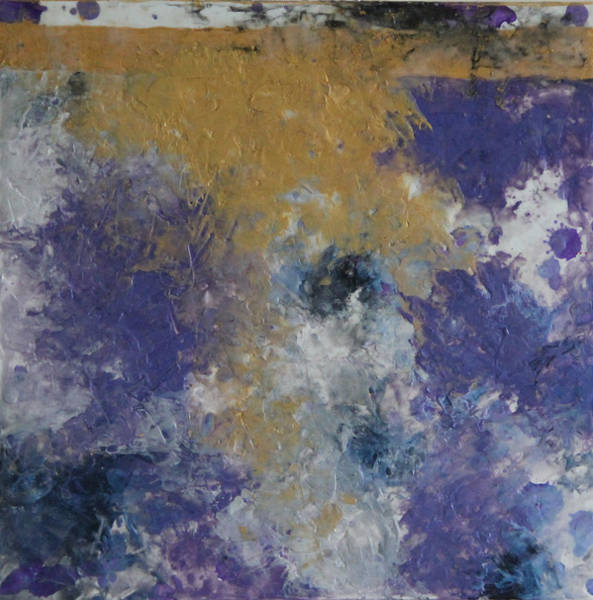 Wall Art - Painting - Encaustic 4 by Tracy Fetter