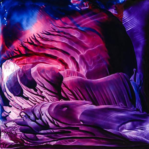 Wax Painting - Encaustic 827 by Hakon Soreide
