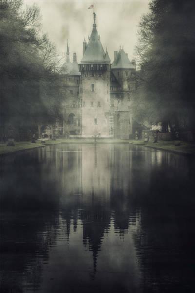 Moat Photograph - Enchanted Castle by Joana Kruse
