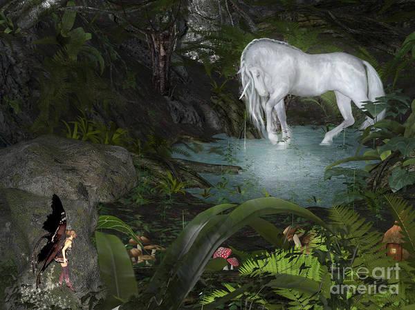 Digital Art - Enchanted Forest by Elle Arden Walby