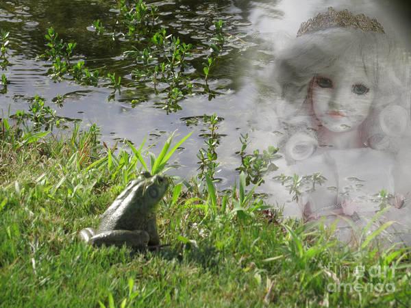 Golden Princess Photograph - Enchanted Prince Fairy Tale by Ella Kaye Dickey