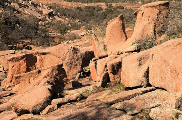 Enchanted Rock State Park Photograph - Enchanted Rocks by Adam Jewell