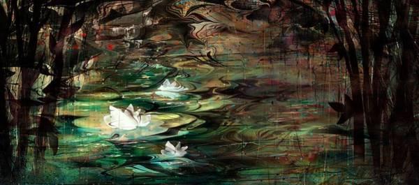Fairy Pools Digital Art - Enchanted Whispers by Rachel Christine Nowicki