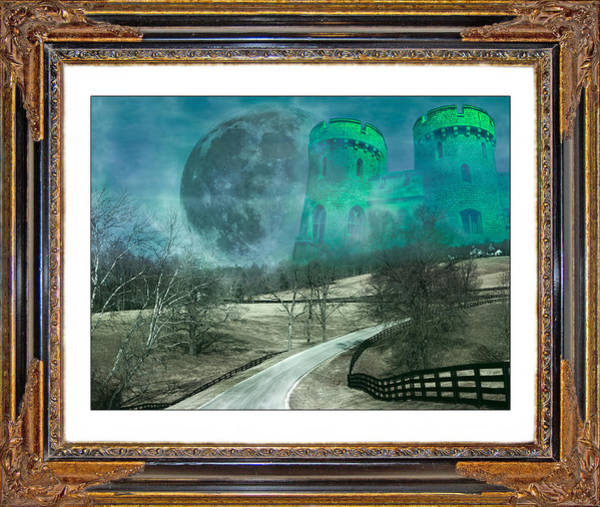 Conceptual Mixed Media - Enchanting Evening With Oz by Betsy Knapp